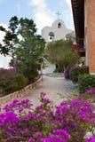Kirche im Park Xcaret. Mexiko. Lizenzfreies Stockfoto
