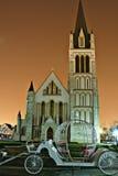 Kirche im Porzellan Stockfotografie