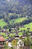Kirche im Tal Lizenzfreies Stockfoto