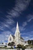 Kirche im viktorianischen Bezirk von Oamaru, Neuseeland Stockbilder