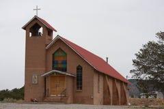 Kirche im wilden lizenzfreie stockfotos
