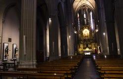 Kirche Innen-Sagrat lizenzfreies stockbild