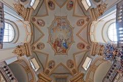 Kirche-Innenraum Lizenzfreies Stockbild