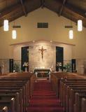 Kirche-Innenraum Stockfotos