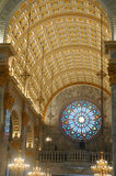 Kirche-Innenraum Lizenzfreies Stockfoto