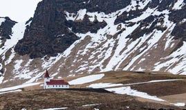 Kirche in Island Lizenzfreies Stockfoto