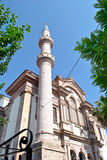 Kirche ist eine Moschee lizenzfreies stockbild