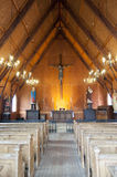 Kirche in Kampen Lizenzfreies Stockfoto