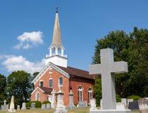 Kirche Kapellen-Punkt Maryland Str.-Ignatius Stockfotos