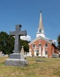 Kirche Kapellen-Punkt Maryland Str.-Ignatius Stockbilder
