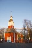 Kirche in Kiruna stockfoto