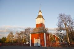 Kirche in Kiruna lizenzfreie stockfotos