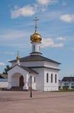 Kirche in Kloster Abalak Znamenski. Sibirien. Russland Stockfoto