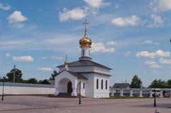 Kirche in Kloster Abalak Znamenski. Sibirien. Russland Stockfotos