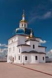 Kirche in Kloster Abalak Znamenski. Sibirien. Russland Lizenzfreies Stockbild