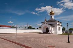 Kirche in Kloster Abalak Znamenski. Sibirien. Russland Lizenzfreie Stockfotografie