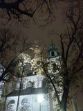 Kirche in Krakau lizenzfreies stockbild