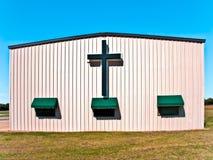 Kirche-Kreuz Lizenzfreie Stockfotografie