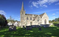 Kirche Lacock St. Cyriacs Lizenzfreie Stockbilder