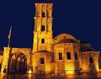 Kirche in Larnaka-Stadt Stockfotografie