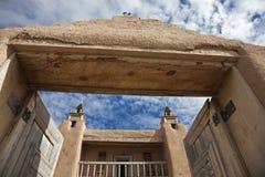 Kirche in Las Trampas Lizenzfreies Stockfoto