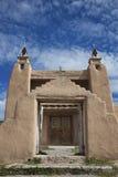Kirche in Las Trampas Lizenzfreie Stockfotos