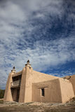 Kirche in Las Trampas, New-Mexiko Stockfoto