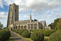 Kirche Lavenham Str.-Peter und Str. Paul Lizenzfreie Stockfotos