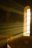 Kirche, Lichteffekt Stockfoto