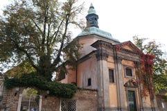 Kirche in Ljubljana, Slowenien Lizenzfreies Stockfoto