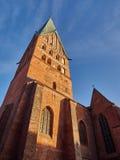 Kirche in Lueneburg Stockfotos