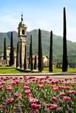 Kirche in Lugano, die Schweiz Lizenzfreie Stockbilder