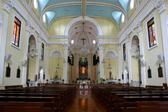 Kirche in Macau stockbild