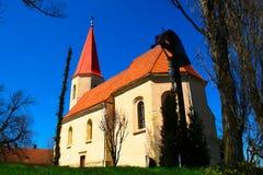 Kirche in Mala Nedelja, Slowenien Lizenzfreie Stockfotografie