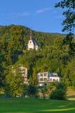 Kirche Mariahilf, Mondsee, Österreich Lizenzfreies Stockfoto