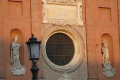Kirche in Marktplatz dei Signori in Padua im Venetien (Italien) Stockbilder