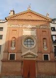 Kirche in Marktplatz dei Signori in Padua im Venetien (Italien) Lizenzfreie Stockfotografie