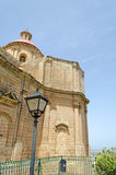 Kirche in Mellieha Lizenzfreie Stockbilder