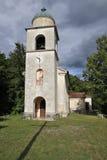 Kirche am Mengore Hügel Stockfotos