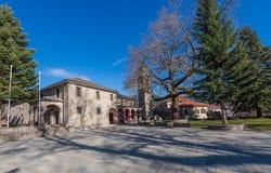 Kirche Metsovo Agia Paraskevi Stockfotografie