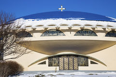 Kirche in Milwaukee Lizenzfreies Stockfoto