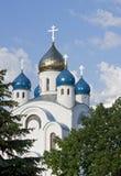 Kirche in Minsk stockbilder