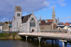 Kirche mit Turm, Drogheda, Irland Lizenzfreies Stockbild