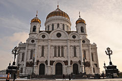 Kirche in Moskau Stockbilder