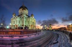 Kirche in Moskau Lizenzfreie Stockfotografie
