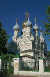 Kirche, Moskau, Russland Lizenzfreie Stockbilder