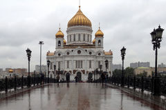 Kirche in Moskau, Russland lizenzfreie stockfotografie