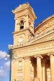 Kirche in Mosta, Malta lizenzfreie stockfotos