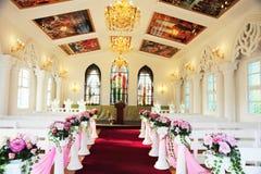 Kirche nach innen. lizenzfreie stockfotografie
