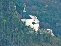 Kirche Niederösterreich keltischen Gebäudes Pitten Stockbild